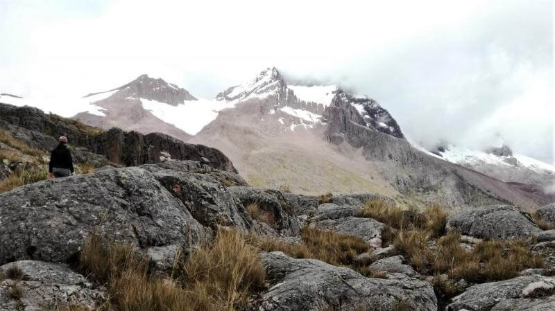 Hiking the Chicon, a magnificent mountain above Urubamba