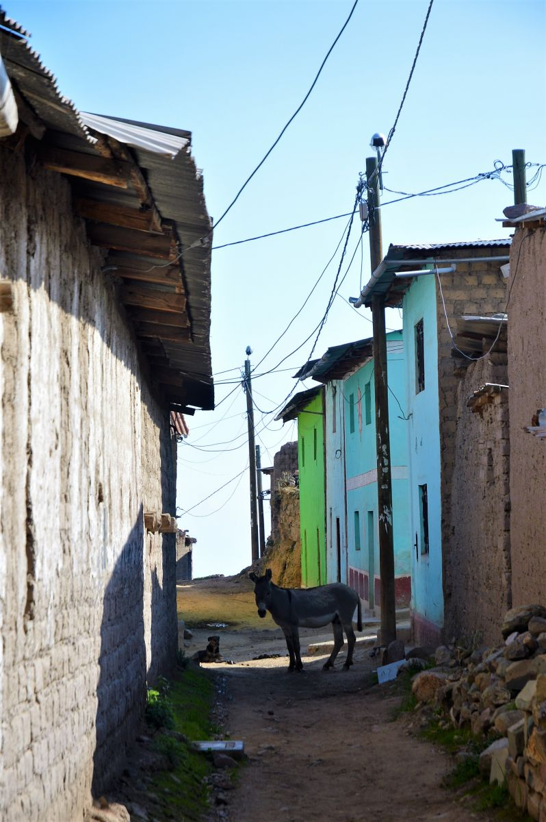 The streets of Tupicocha
