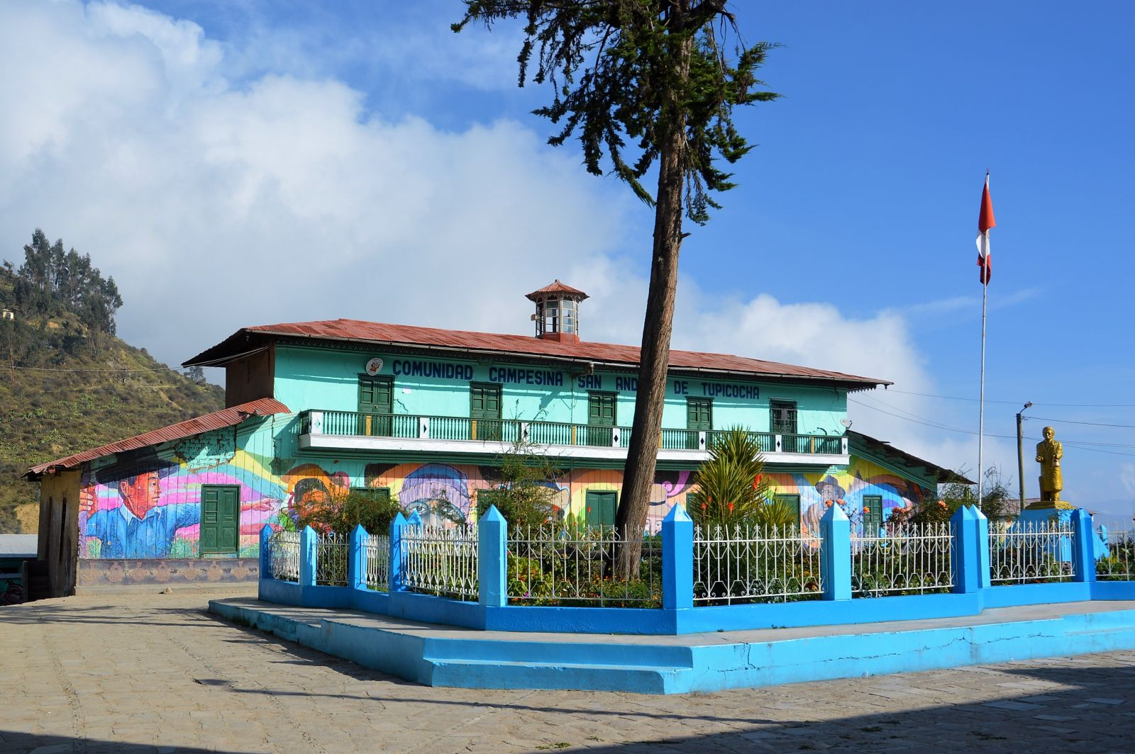 The main square of Tupicocha